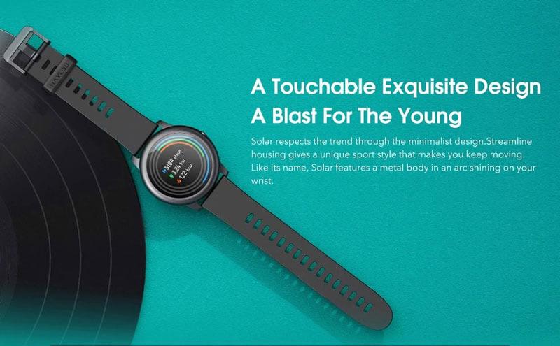 ساعت هوشمند هایلو Haylou Solar LS05