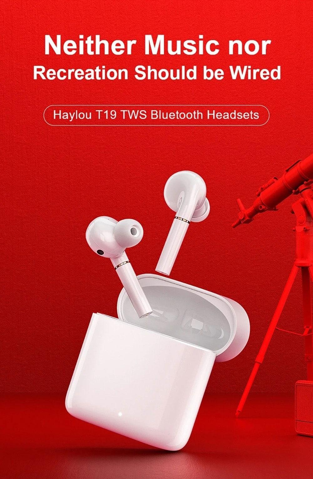 هدفون بلوتوث مدل Haylou T19 - هدفون بی سیم هایلو مدل T19