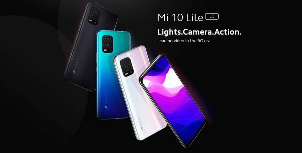گوشی موبایل شیائومی مدل Mi 10 Lite 5G