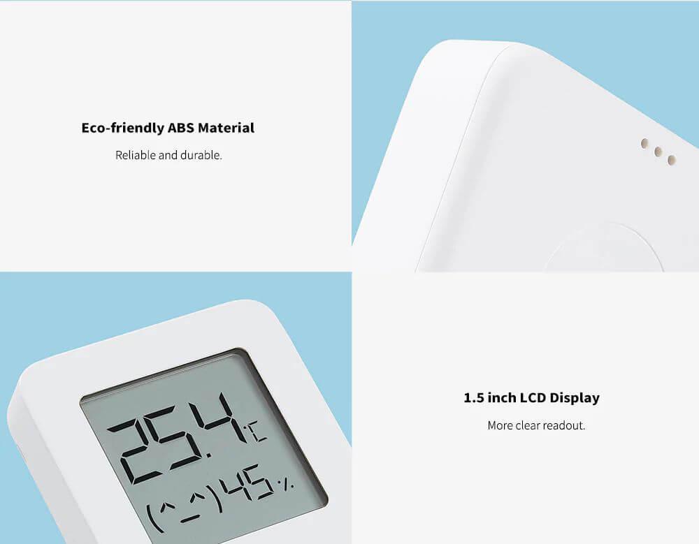 دماسنج و رطوبت سنج شیائومی Xiaomi Mi Temperature and Humidity Monitor 2 LYWSD03MMC