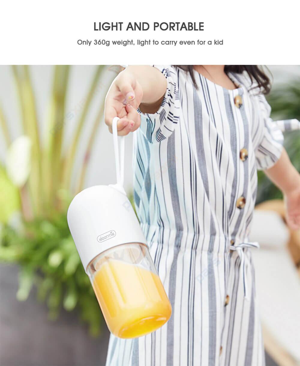 مخلوط کن قابل حمل شارژی شیائومی Xiaomi Deerma DEM-NU11 Portable Juicer Blender