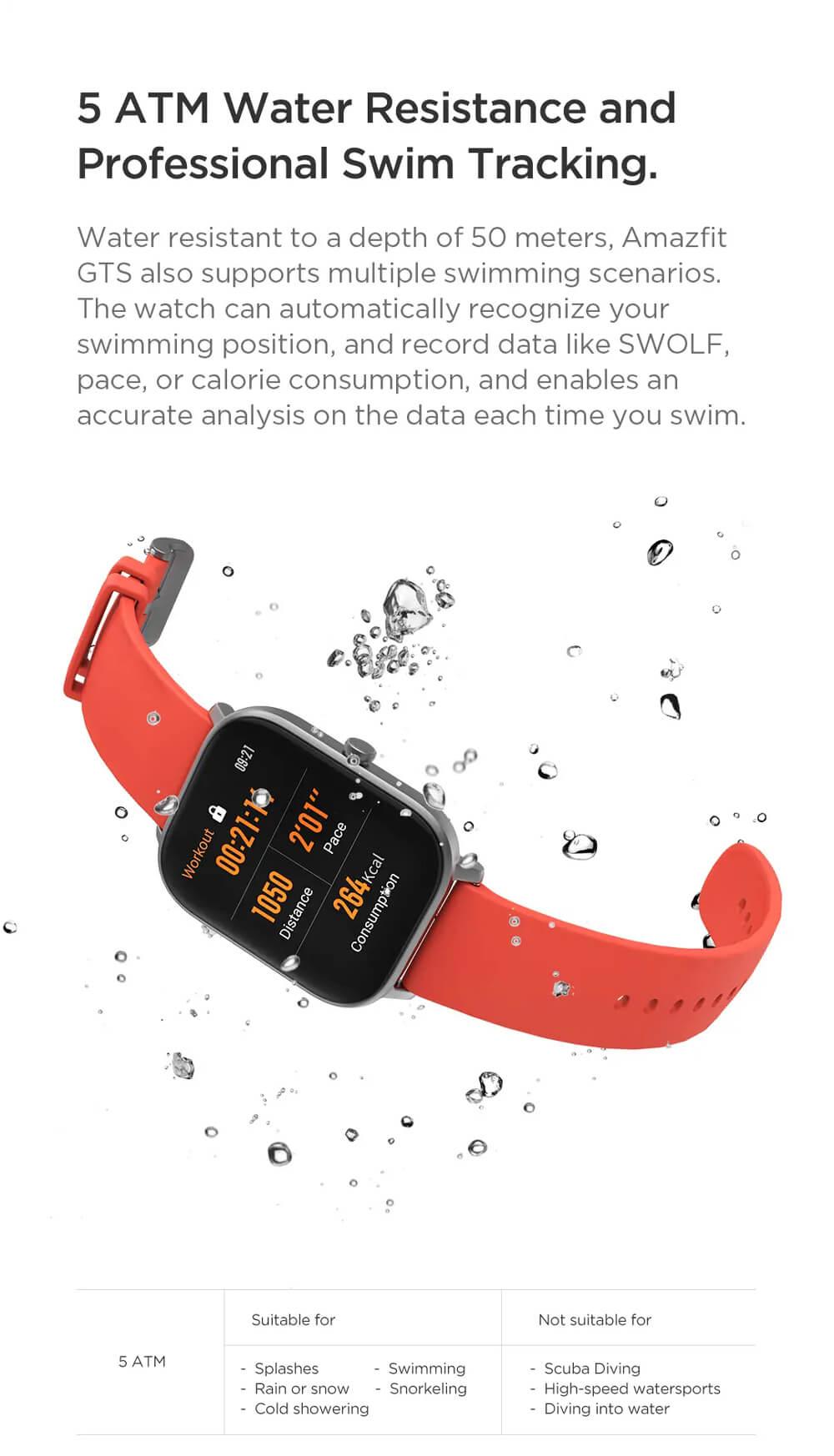 ساعت هوشمند شیائومی امیزفیت جی تی اس - Xiaomi Amazfit GTS