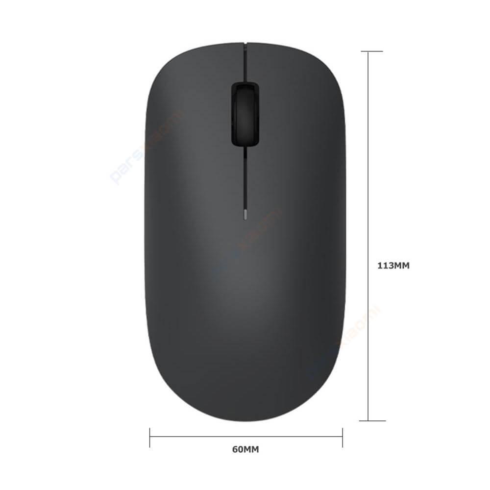 موس بی سیم شیائومی نسخه lite مدل Xiaomi Wireless Mouse Lite XMWXSB01YM