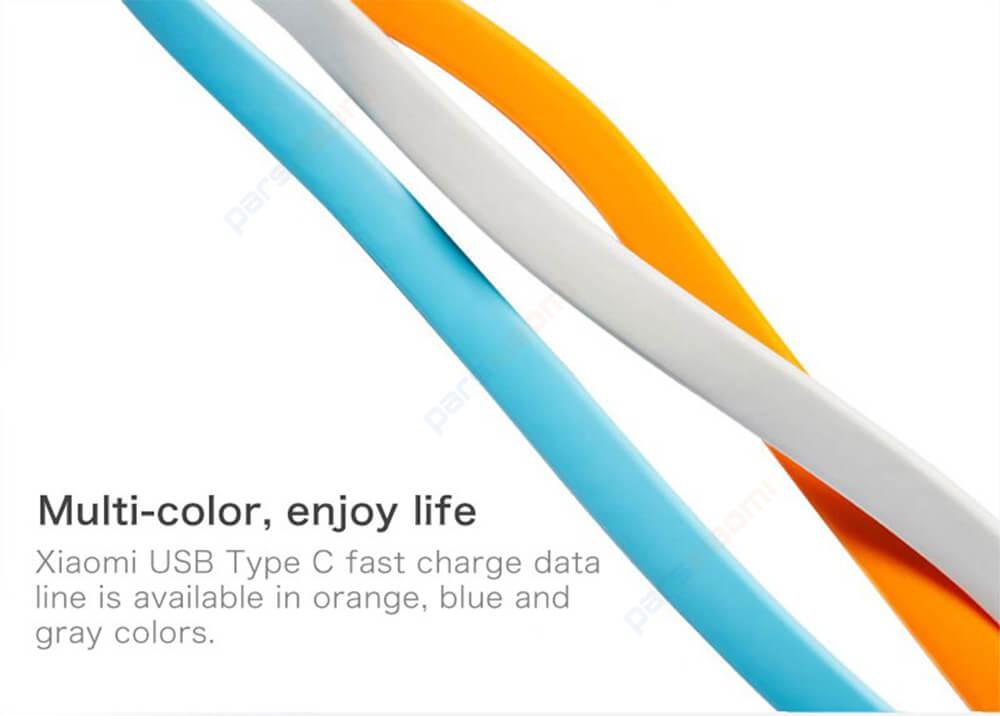 کابل تبدیل USB به USB-C شیائومی مدل XMSJX11QM طول 1.2 متر
