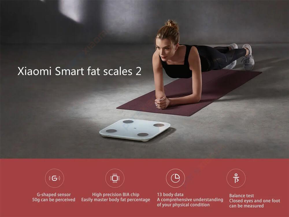 ترازو هوشمند شیائومی Xiaomi Mi Body Composition Scale 2 XMTZC05HM