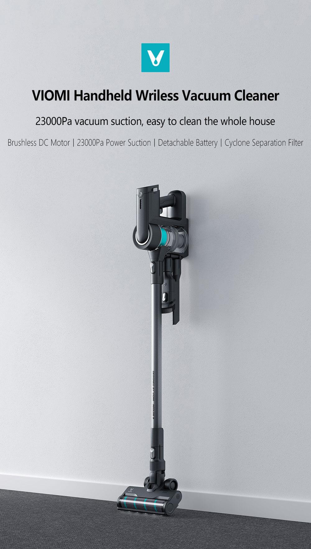 جارو شارژی ویومی شیائومی مدل VIOMI VXXC09