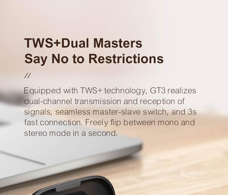 هندزفری بلوتوثی شیائومی هایلو GT3 - Haylou GT3 True Wireless Stereo Bluetooth Earphones