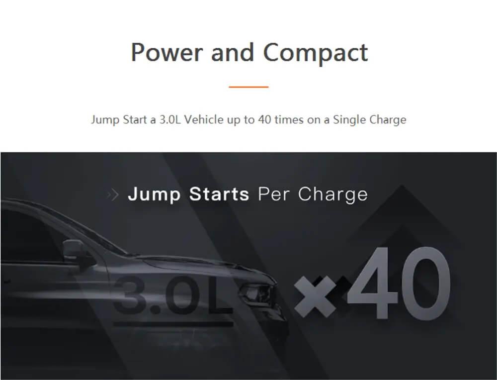 جامپ استارتر خودرو سونتی می مدل PS01 ظرفیت 11100 میلی آمپر ساعت