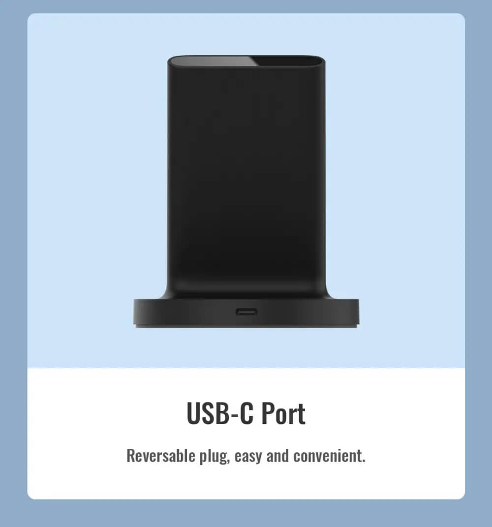 شارژر وایرلس شیائومی Xiaomi Mi 20W Wireless Charger Stand WPC02ZM توان 20 وات