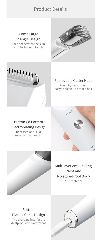 ماشین اصلاح موی سر و صورت شیائومی Xiaomi ShowSee Electric Hair Clipper C2