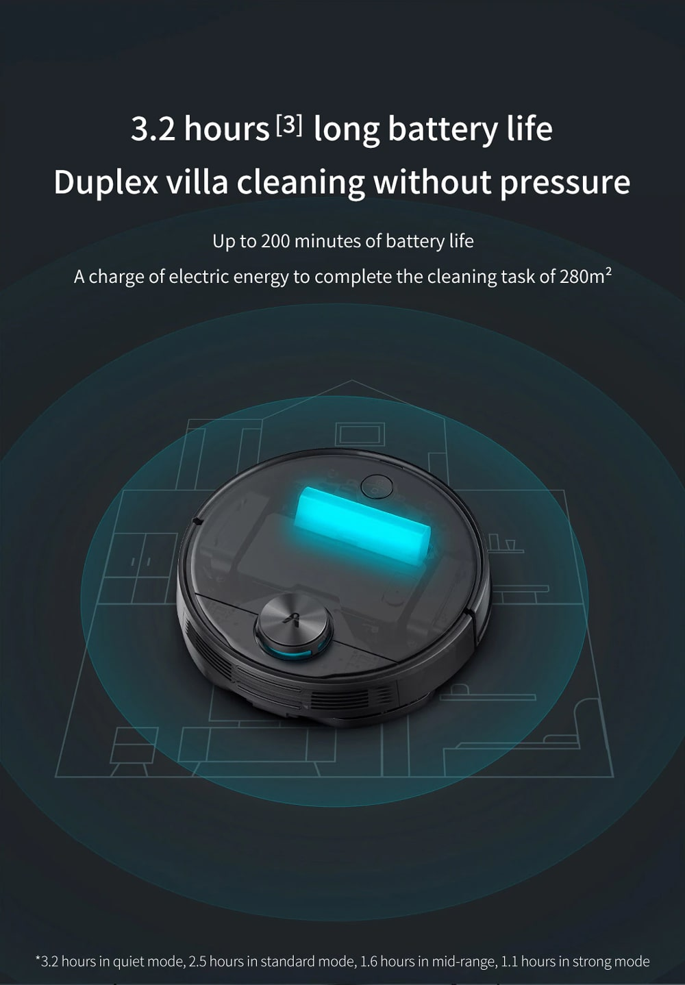 جارو رباتیک شیائومی مدل Viomi X2 – Viomi X2 Robot Vacuum Cleaner VXVC07-JG