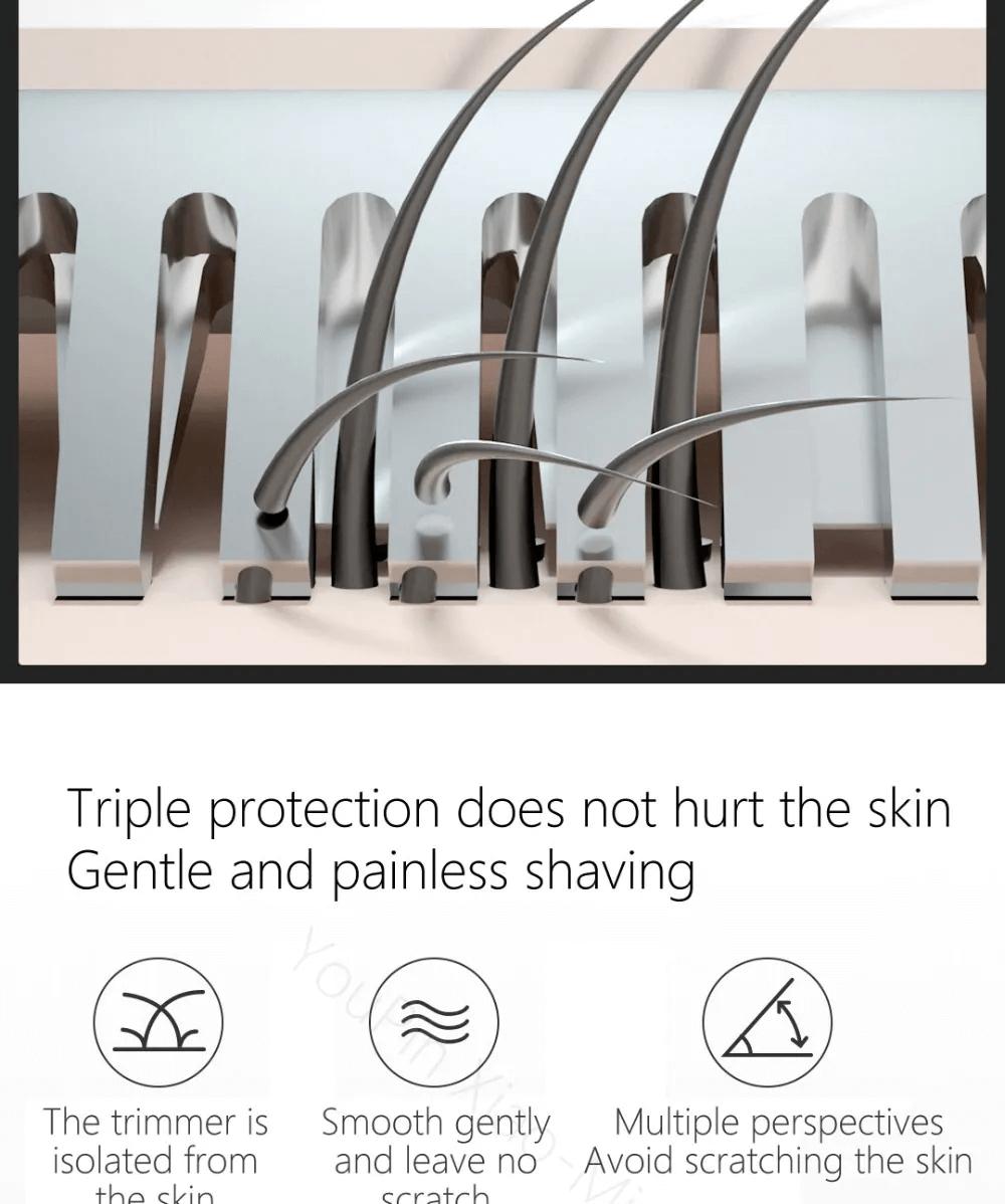ماشین اصلاح موی سر و صورت و بدن شیائومی ول اسکینز مدل WX-TM01