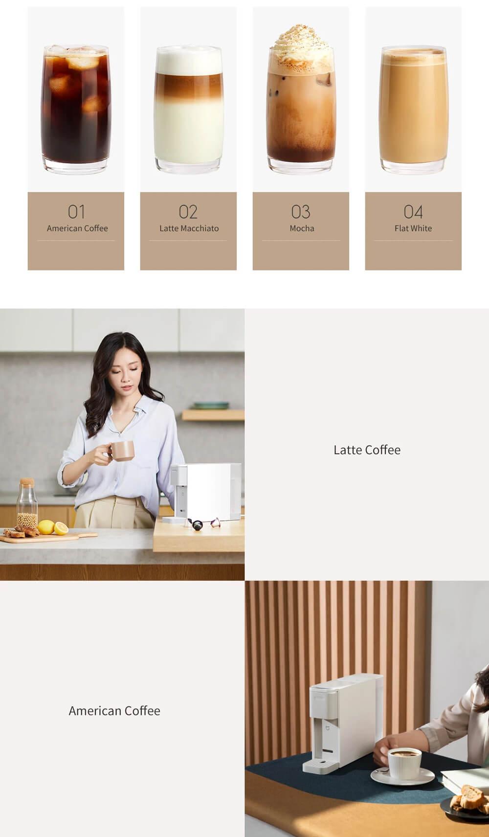 اسپرسو ساز کپسولی میجیا شیائومی S1301 - Xiaomi Mijia S1301 Coffee Machine