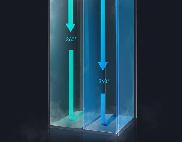یخچال فریزر شیائومی Viomi BCD-545WMSA
