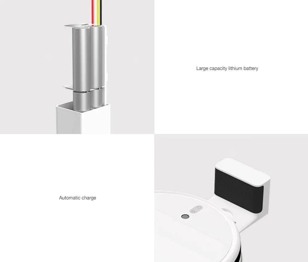 جارو رباتیک شیائومی مدل Xiaomi Mi Robot Vacuum-Mop 1C STYTJ01ZHM