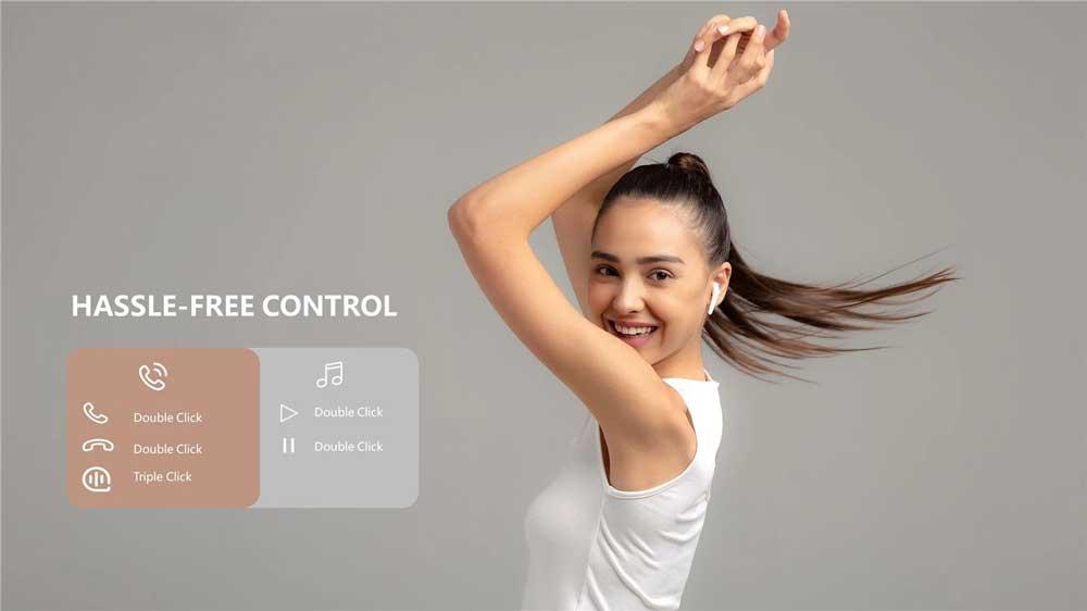هندزفری بلوتوثی وان مور مدل ComfoBuds - 1MORE ComfoBuds ESS3001T Wireless Headset