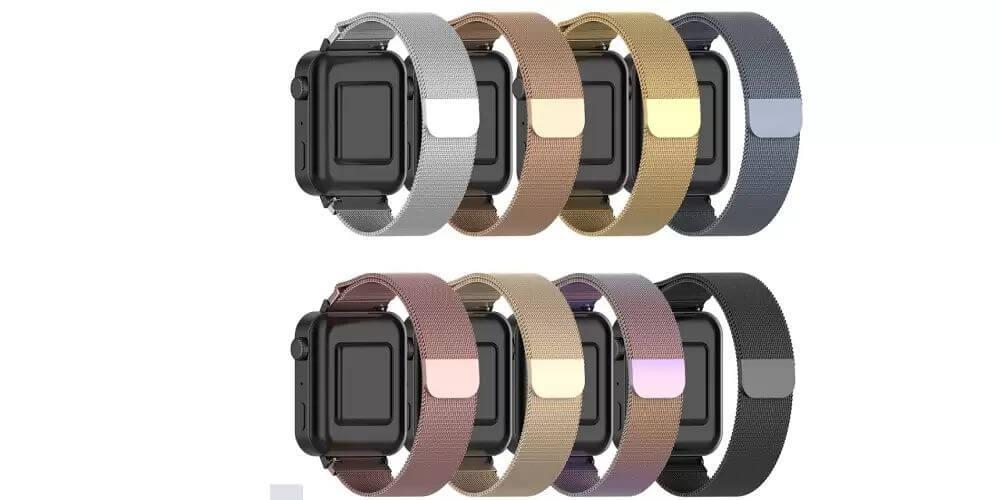 بند مگنتی ساعت هوشمند شیائومی Mi Watch - Metal Strap For Xiaomi Mi Watch
